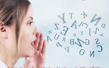 Phát âm tiếng Anh nên học ở đâu tốt